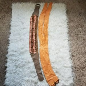 Leather/Suede Fashion Belts